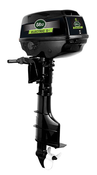 5 HP - Elco Electric Outboard Boat Motor
