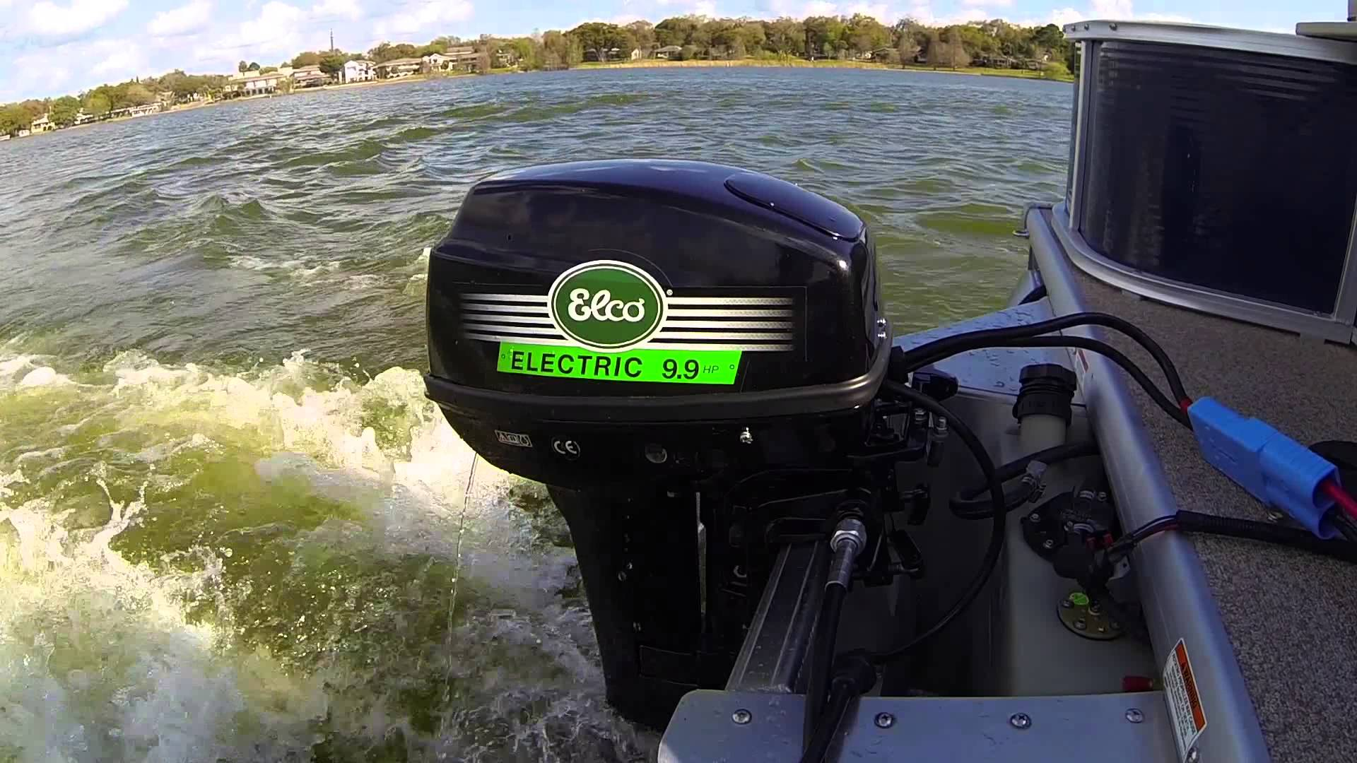 Stoves Plus 9 9 Hp Elco Electric Outboard Boat Motor